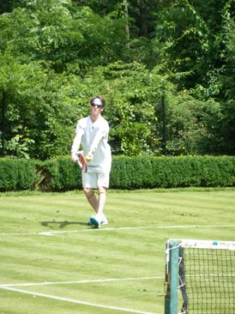 Grass Court Tennis - Bob Murray Serves