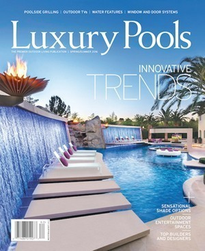 Luxury Pools cover Spring 2016