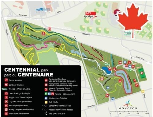 Centennial Park Moncton